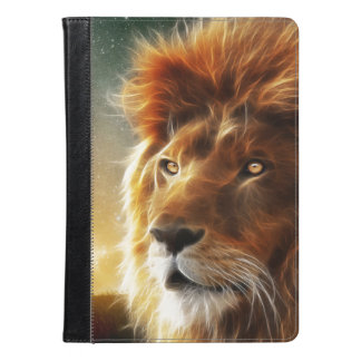 Lion face .King of beasts abstraction iPad Air Case