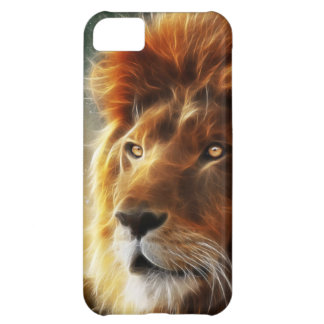 Lion face .King of beasts abstraction iPhone 5C Cover