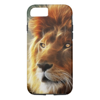 Lion face .King of beasts abstraction iPhone 7 Case