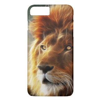 Lion face .King of beasts abstraction iPhone 7 Plus Case