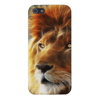 Lion face .King of beasts abstraction iPhone SE/5/5s Case