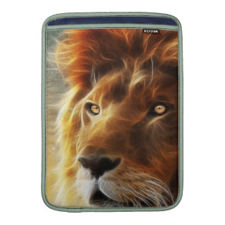 Lion face .King of beasts abstraction MacBook Sleeve