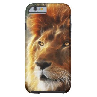 Lion face .King of beasts abstraction Tough iPhone 6 Case