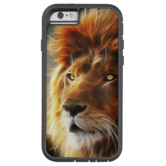 Lion face .King of beasts abstraction Tough Xtreme iPhone 6 Case
