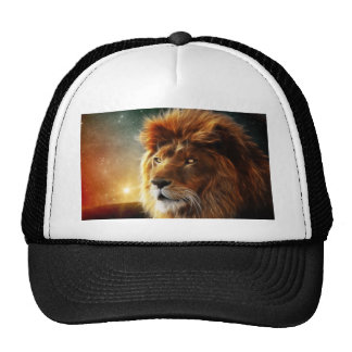 Lion face .King of beasts abstraction Trucker Hat