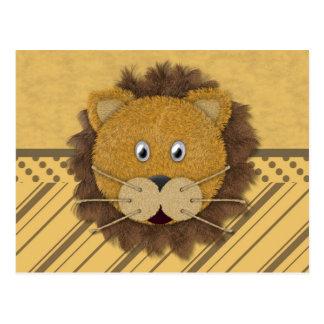 Lion Face Post Cards