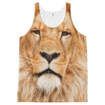 Lion Face Tank