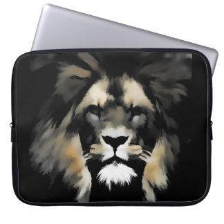 Lion Face Wildlife Laptop Bag Computer Sleeve