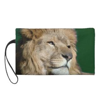 Lion Face Wristlet