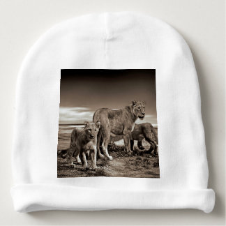 Lion Family Baby Beanie