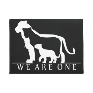 Lion Family Doormat