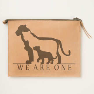 Lion Family Travel Pouch