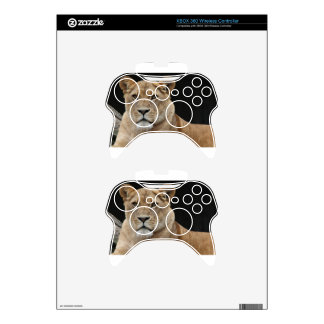 Lion Female Lying Down Xbox 360 Controller Skins