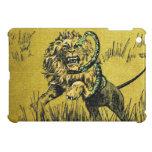 Lion Fighting Snake iPad Mini Case