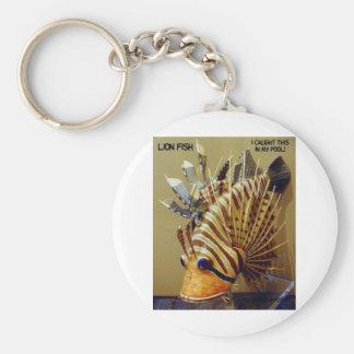 LION FISH KEYCHAIN