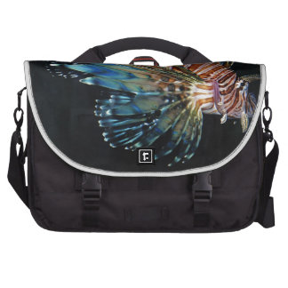 Lion fish laptop commuter bag