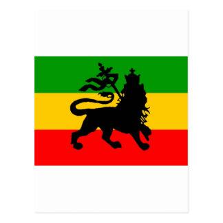 Lion Flag Postcard