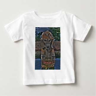 Lion Fountain Baby T-Shirt