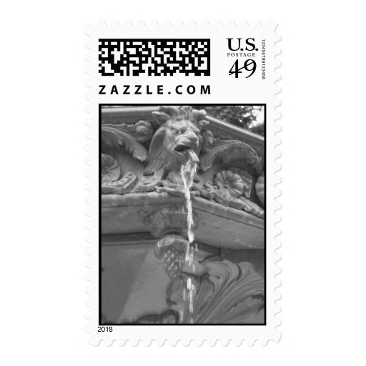 Lion Fountain - Stamps