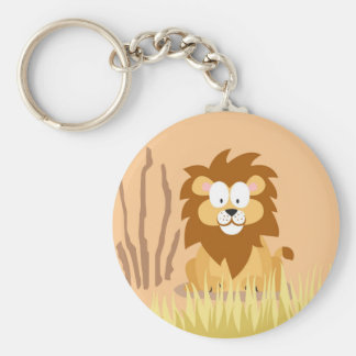 Lion from my world animals serie keychain