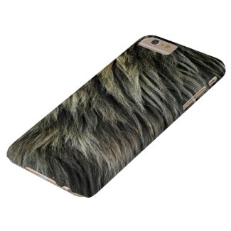 Lion Fur Barely There iPhone 6 Plus Case
