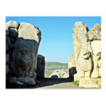 Lion Gate At Hattushas, 1300 B.C. Postcard