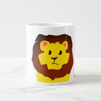 Lion Giant Coffee Mug
