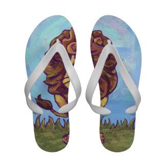 Lion Gifts Accessories Flip Flops