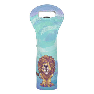 Lion Gifts & Accessories Wine Bag