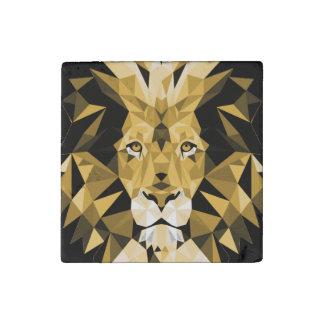 Lion Stone Magnet