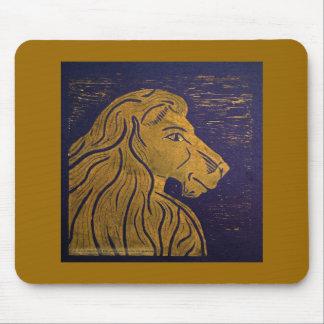 Lion (Gold & Black) Mousepad