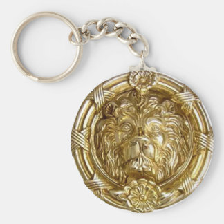 Lion Gold Key Chain