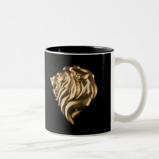 Lion Gold Coffee Mug