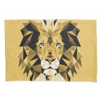 Lion Gold Pillowcase