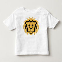 Lion Gold Toddler T-shirt