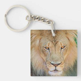 Lion Graphic Keychain