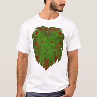 Lion Grass Red & Green T-Shirt
