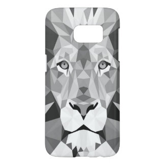 Lion Gray Samsung Galaxy S7 Case
