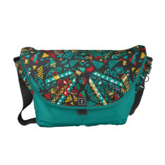 Lion Guard   African Pattern Courier Bag at Zazzle