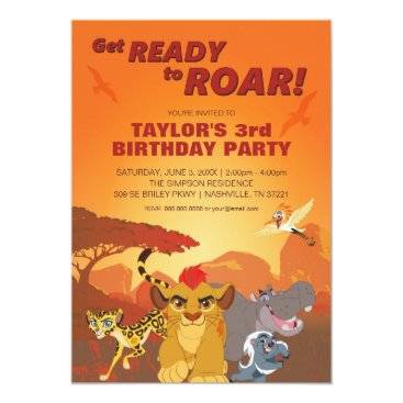 disney Lion Guard | Birthday Card