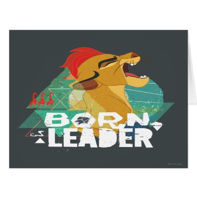 Lion Guard | Born Leader Kion Card