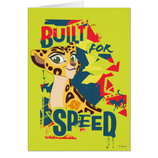 Lion Guard   Built For Speed Fuli Card