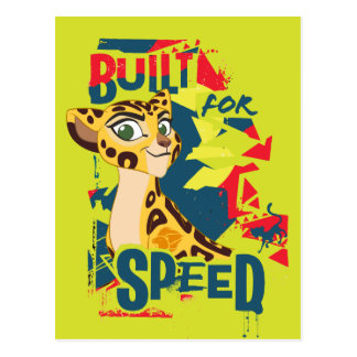 Lion Guard | Built For Speed Fuli Postcard
