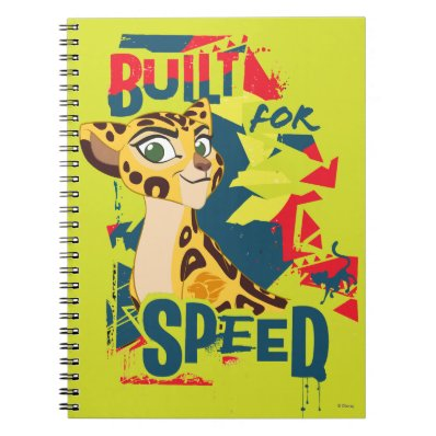 Lion Guard | Built For Speed Fuli Spiral Note Book