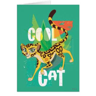 Lion Guard   Cool Cat Fuli Card