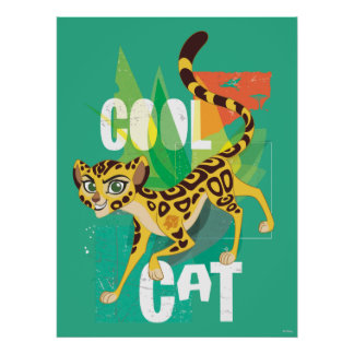 Lion Guard | Cool Cat Fuli Poster