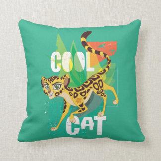 Lion Guard | Cool Cat Fuli Throw Pillow