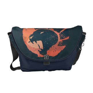 Lion Guard Emblem Messenger Bag