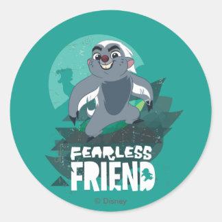 Lion Guard   Fearless Friend Bunga Classic Round Sticker