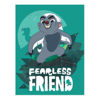 Lion Guard | Fearless Friend Bunga Postcard